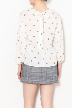 Lush Clothing  Peacock Floral Blouse - Alternate List Image