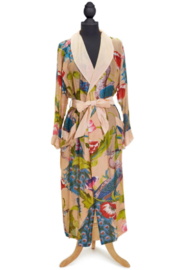 Two's Company Peacock & Poppies Robe - Product Mini Image