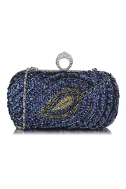 Scarecrow Peacock Sequin Clutch - Product Mini Image
