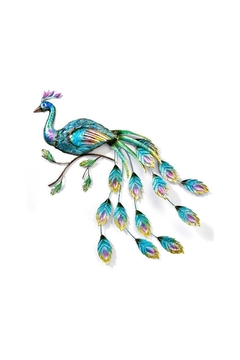 Giftcraft Inc.  Peacock Wall Plaque - Alternate List Image