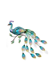 Giftcraft Inc.  Peacock Wall Plaque - Product Mini Image