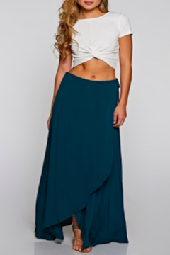 Shoptiques Product: Peacock Wrap Skirt