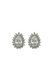 Wild Lilies Jewelry  Pear Crystal Studs - Product Mini Image