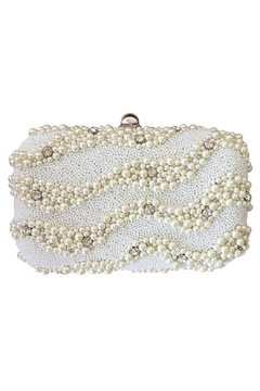 Scarborough Fair Pearl Beaded Clutch - Product List Image