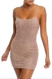luxxel Pearl Bodycon Dress - Product Mini Image