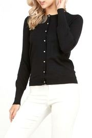Love Tree Pearl Button Cardigan - Product Mini Image