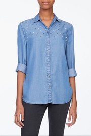 Beach Lunch Lounge Pearl Button Down - Product Mini Image