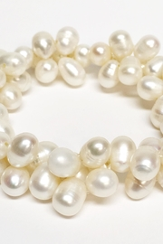 Worthwhile Wear Pearl Cluster Bracelet - Front full body