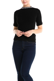 Alythea Pearl Collar Sweater - Product Mini Image