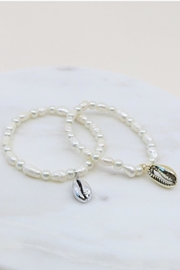 Gifted Pearl/cowrie Shell Bracelet - Product Mini Image