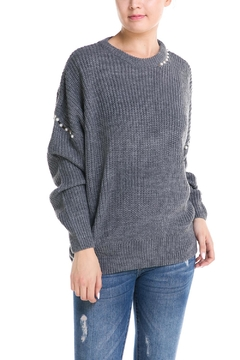 Shoptiques Product: Pearl Detail Sweater