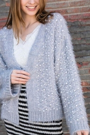 POL Pearl Detail Sweater - Product Mini Image