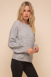Hem & Thread Pearl Detail Sweater - Product Mini Image