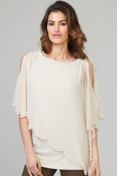 Joseph Ribkoff Pearl Detail Tunic - Alternate List Image