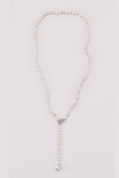 Handmade Designs Pearl Drop Necklace - Product List Image