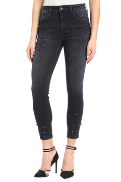 Mavi Jeans Pearl Embellished Denim - Product List Image