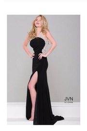 Jovani Pearl Embellished Gown - Product Mini Image