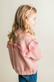 Maeli Rose Pearl Embellished Jacket - Front full body