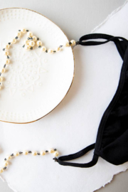 Lenny & Eva Pearl Facemask Necklace - Product Mini Image