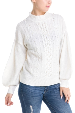 Shoptiques Product: Pearl Front Sweater