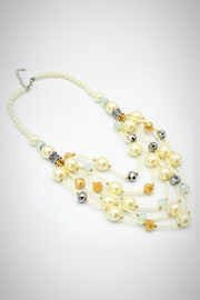 Embellish Pearl Glass Necklace - Product Mini Image