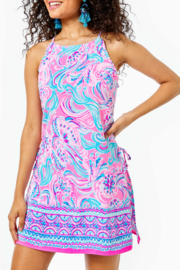 Lilly Pulitzer  Pearl Halter Romper - Product Mini Image