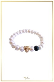 Malia Jewelry Pearl Jaguar Bracelet - Product Mini Image
