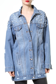 Madonna & Co Pearl Jean Jacket - Product List Image