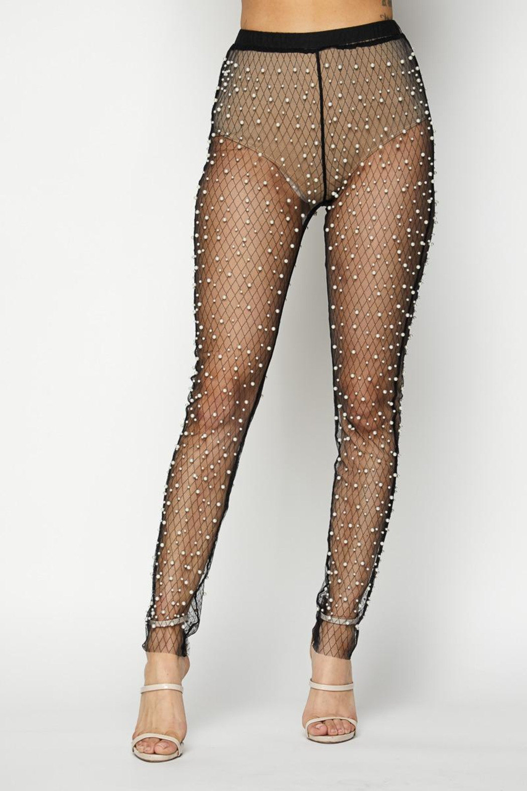 Hot   Delicious Pearl Mesh Pants from New York by Dor L Dor — Shoptiques 60eb84ea8