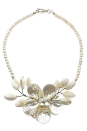 Ananda Chicago  Pearl Necklace - Front cropped