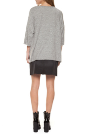 Dex Pearl Pocket 1/2 Sleeve Sweater - Front full body