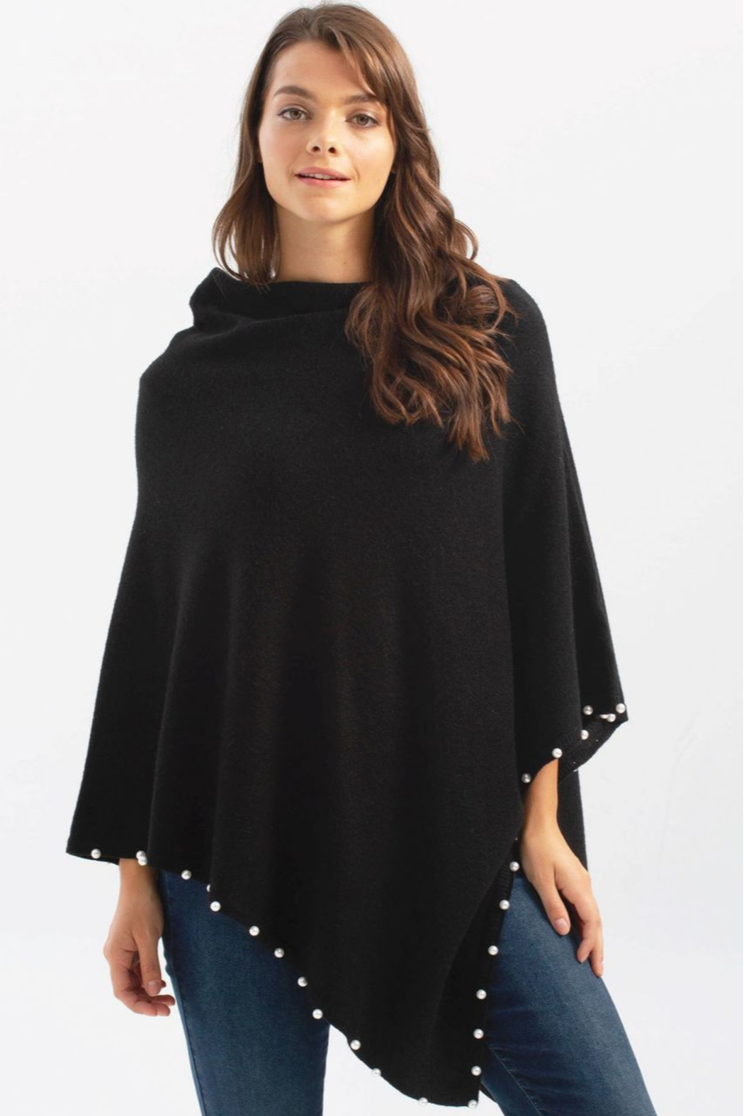 Charlie B Pearl Poncho - Front Cropped Image