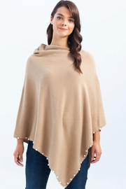 Charlie B Pearl Poncho - Front cropped