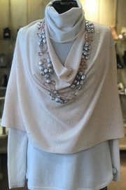 In Cashmere Pearl Poncho - Product Mini Image