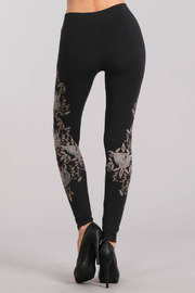 M. Rena Pearl Rose Print Seamless Legging - Product Mini Image