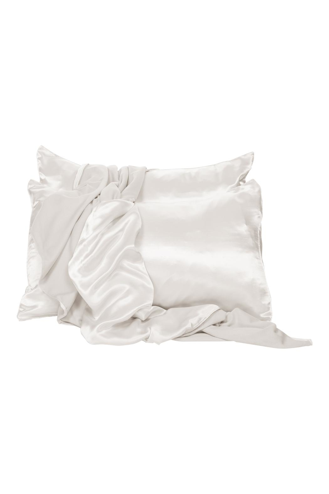 PJHARLOW Pearl Satin Pillowcase - Front Cropped Image