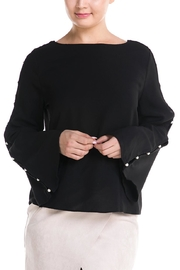 Do & Be Pearl Sleeve Blouse - Product Mini Image