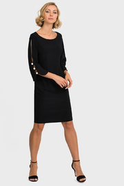 Joseph Ribkoff  Pearl Sleeve Dress - Product Mini Image