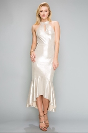 Mad For Love Pearl Sleeve-Less Dress - Product Mini Image