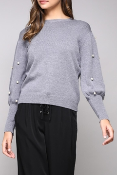 Do & Be Pearl Sleeve Sweater - Product List Image