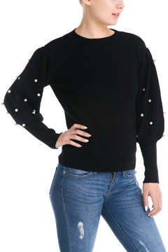 Shoptiques Product: Pearl Sleeve Sweater