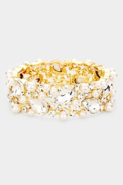 Wild Lilies Jewelry  Pearl Statement Bracelet - Product Mini Image