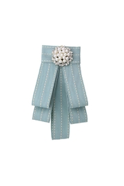 Madison Avenue Accessories Pearl Stitch Broach - Product Mini Image
