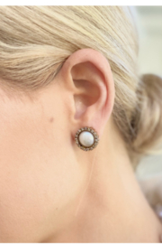 The Woods Fine Jewelry  Pearl Stud Earrings - Product Mini Image