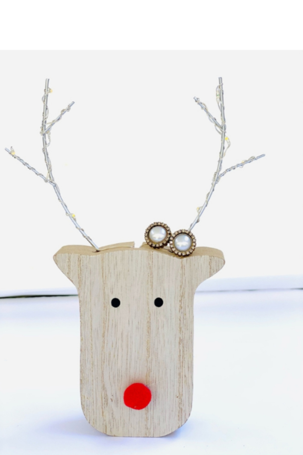 The Woods Fine Jewelry  Pearl Stud Earrings - Front Full Image