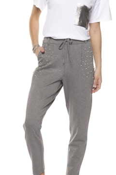 Shoptiques Product: Pearl Studded Joggers