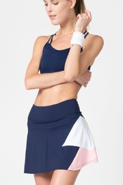 Tonic Active Pearl Tennis Skort - Front cropped