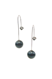 Joy Accessories Pearl Threader Earring - Product Mini Image