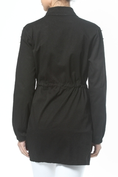 Madonna & Co Pearl Trim Trench - Alternate List Image