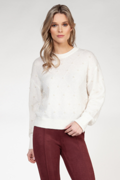 Shoptiques Product: Pearled Sweater